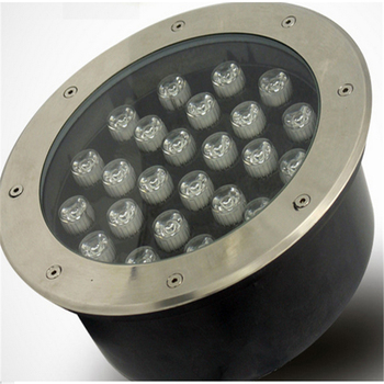 Il trasporto libero HA CONDOTTO sotterraneo lampada 24 w luce interrata, IP67 incorporato luce AC85-265V LUL-A-24W 3 anni di garanzia