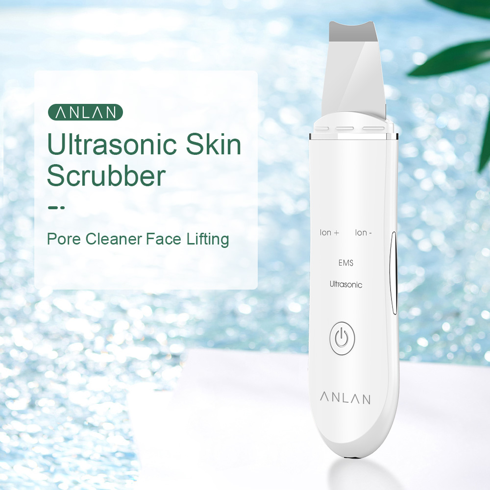Image 5 - ANLAN Ultrasonic Skin Scrubber for dropshipping customerPowered Facial Cleansing Devices   -