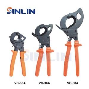 Image 1 - Szczypce VC 30A,VC 36A,VC 60A obcinak do kabli z zapadką narzędzia wydajność cięcia 3 Size 32mm 240mm 36mm 300mm 60mm 500mm