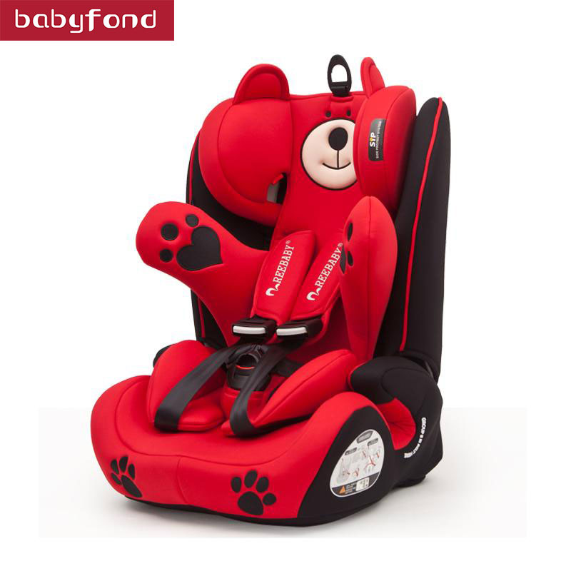 Babyfond car seat children's Safety Seat Automotive Isofix Interface Baby 9 Months -12 Years Of Age car seat whole sale baby safety car seat 4 colors age range 2 10 years old baby car seat for kid active loading weight 9 30 kg baby seat