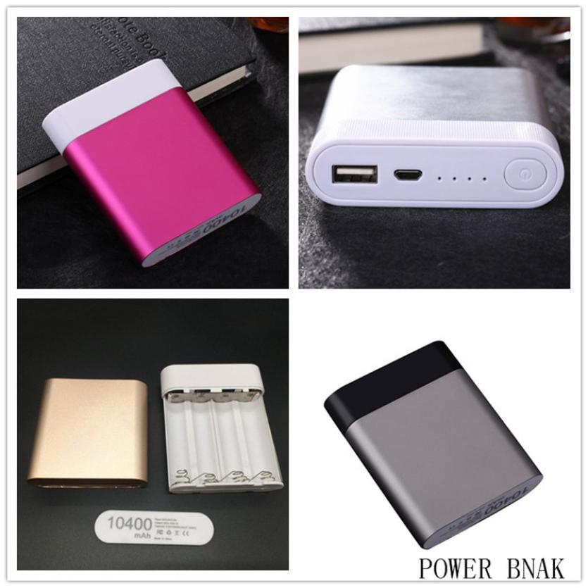 2.1A 4 USB LED Power Bank Case 6x18650 Battery Charger DIY Box Case Kit for Phone New Jan 24