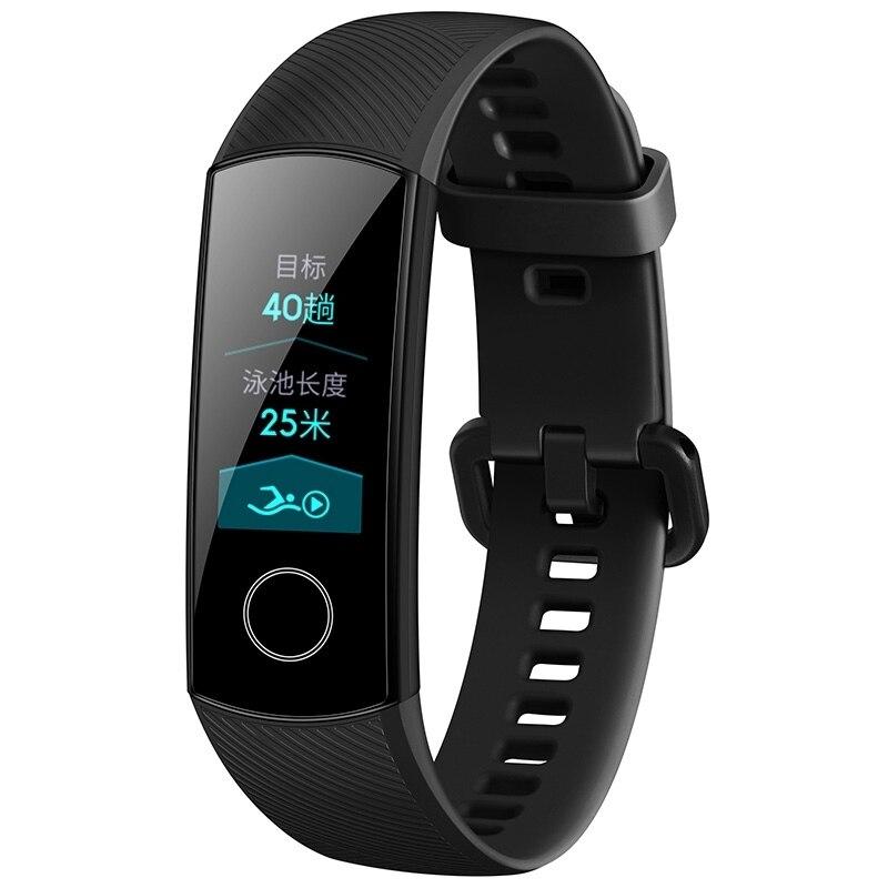 Prevendita-Originale-Huawei-Honor-Fascia-4-Standard-Versione-Intelligente-Wristband-Touch-Screen-a-Colori-Pad-Frequenza