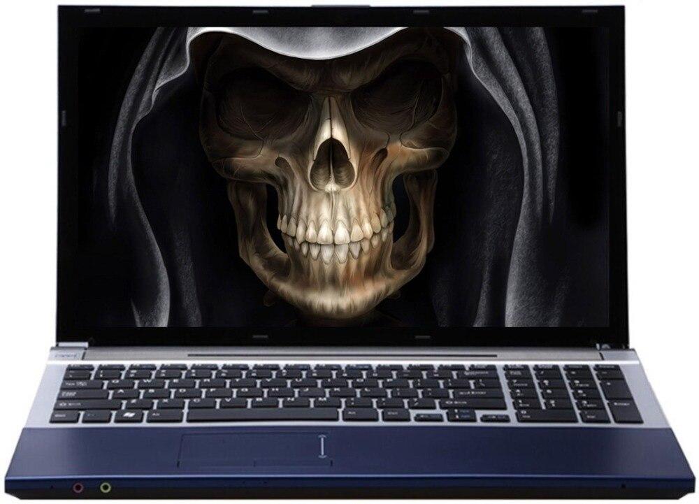 8G RAM 240 г SSD 2000 г HDD 15,6 1920*1080 P Intel Core i7 Процессор HD Графика игровой ноутбук с Windows 10 с DVD RW Bluetooth