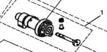 Arbre à came Comp pour hisun 500atv (2013) référence 14110-004-0000