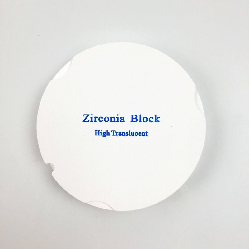 1 Pieces ZirkonZahn System OD95*18mm HT ST Dental Zirconia Puck Blocks for ZirkonZahn CAD CAM Milling System High Quality new arrival 5 pieces lot od100 10mm dental cad cam milling zirconia blocks with plastic ring outside for fixed porcelain denture