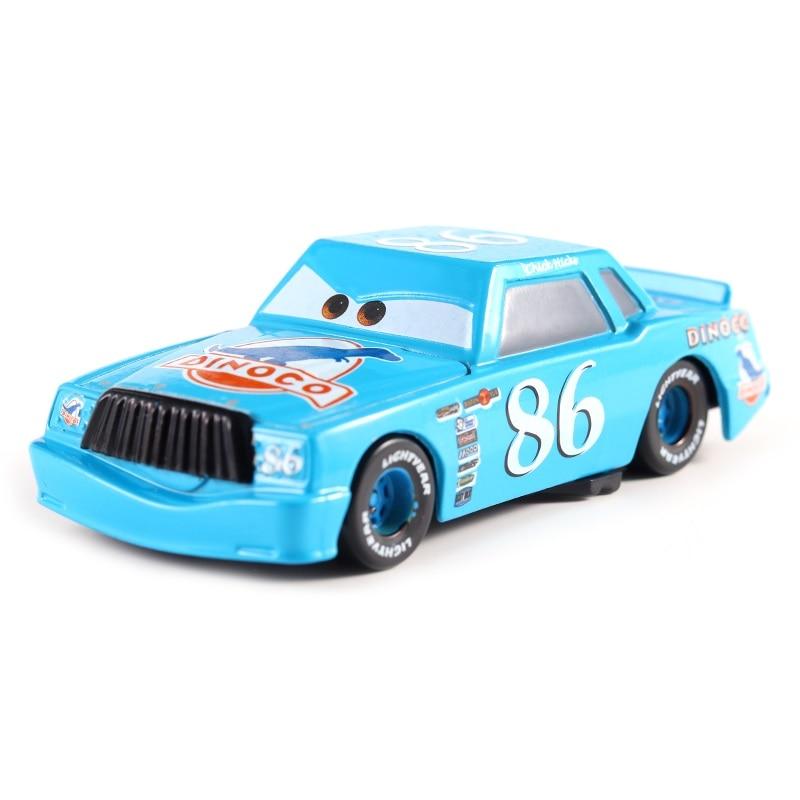 Disney Pixar машина 3 Молния Маккуин гоночный семейный 39 Джексон шторм Рамирез 1:55 литой металлический сплав детская Игрушечная машина - Цвет: 12