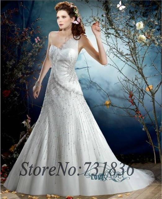 Expensive Mermaid Corset Satin Wedding Dresses 2014 Luxury Crystal