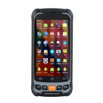 Industrial Rugged Handheld PDA Android Data Collector Wireless 4G Mobile Data Terminal 1D,Laser 2D QRCODE Barcode Scanner
