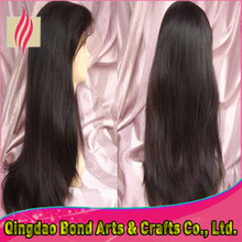 Wholesale price brazilian full lace human hair wigs lace front wigs long straight lace wigs 130%density DHL free shipping