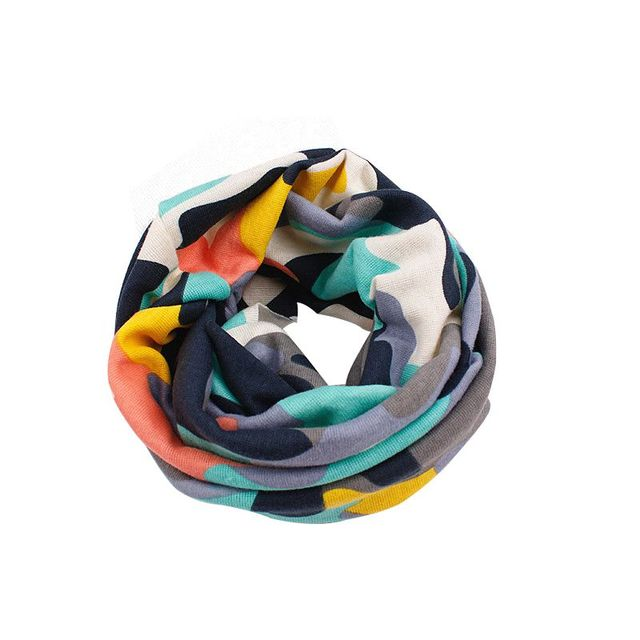 New Autumn Winter Children Scarf Baby Bibs Baby Girl Boy Scarves Circular Ring Lovely Kids Collars Child Ring Scarf