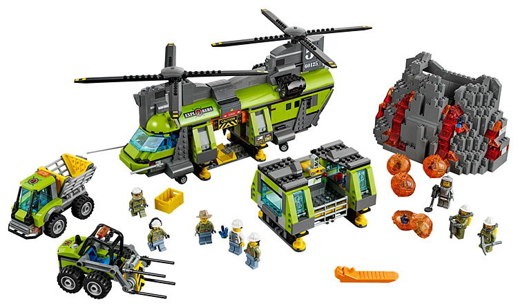 10642 Bela City Volcano Heavy-lift Helicopter Exploration Building Block model Bricks Toys Gift For Compatible lepin 60125 lepin 02005 volcano exploration base building bricks toys for children game model car gift compatible with decool 60124