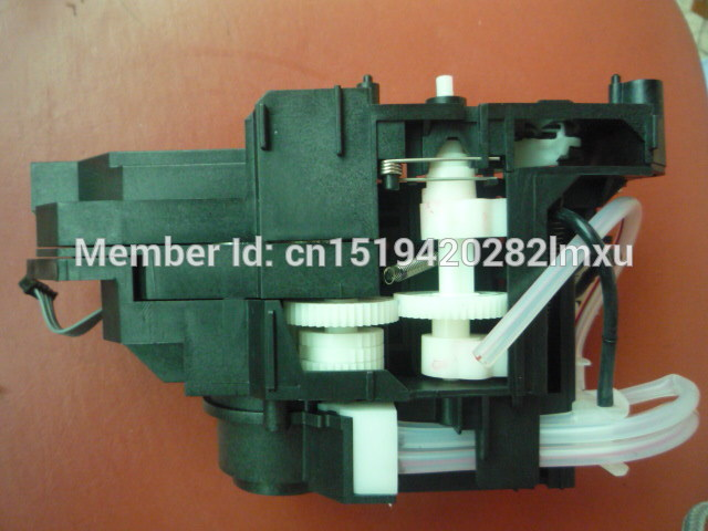 NEW ORIGINAL Ink pump assembly for epson R1390 R1400 R1410 1390 1400 1410 pump unit cleaning unit ink pump for roland sj640 ra640 re640 re540 fh740 vs300 vs540 vs640 vp300 vp540 xf640 rf640 rfa640 roland ink pump u type