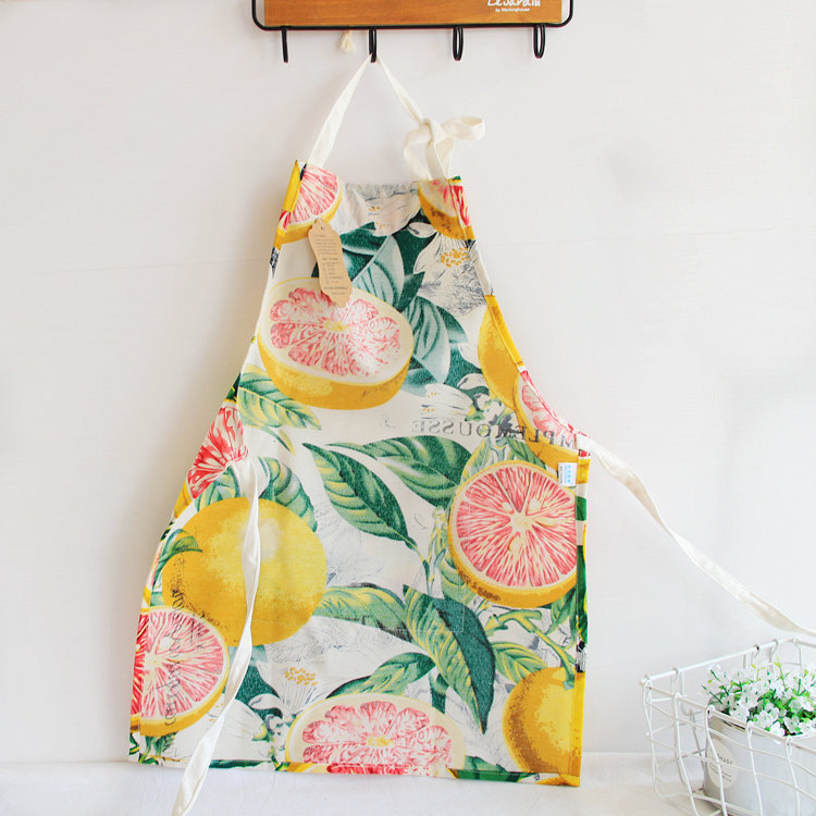 1pcs Flamingo Pattern Apron Woman Adult Children Bibs Home Cooking Baking Cleaning Apron Kitchen Accessory 46104