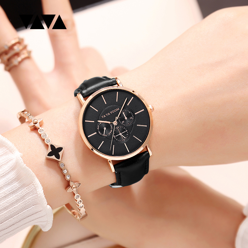 Luxury Brand Ladies Watch Creative Women Watches Leather Quartz Wristwatch Fashion Female Clock Relogio Feminino Girl Watch Xfcs small brand fashion women watches casual luxury ladies watch creative girl quartz wristwatch clock montre relogio feminino