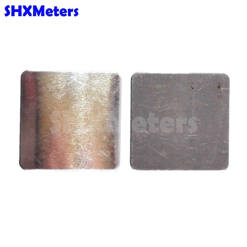 1 Stück Aluminiumplatte 1 Stück Eisenplatte Für Die Kalibrierung Von Gm200 Schichtdickenmessgerät Freigabepreis