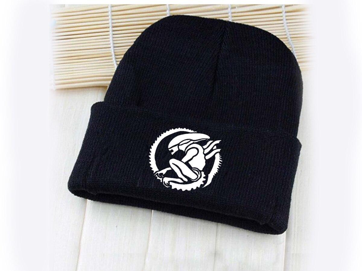 Giancomics Hot Predator/Nightmare Cartoon Pattern Hat Cap Beanie Knitted Cotton Unisex Fashion Winter Cosplay Otaku Decor Gifts