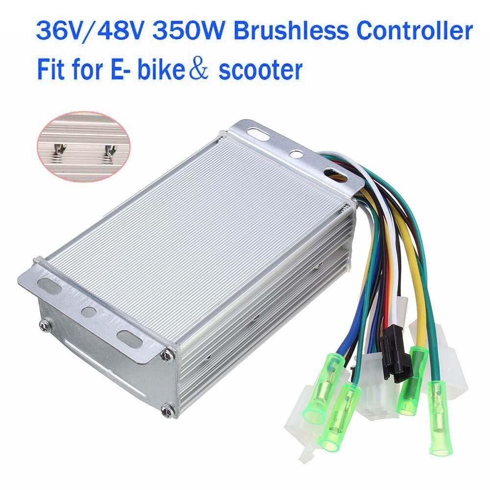 100% Wahr 36 V/48 V 350 Watt Elektro-fahrrad E-bike Roller Bürstenlosen Dc-motor-controller Schrumpffrei