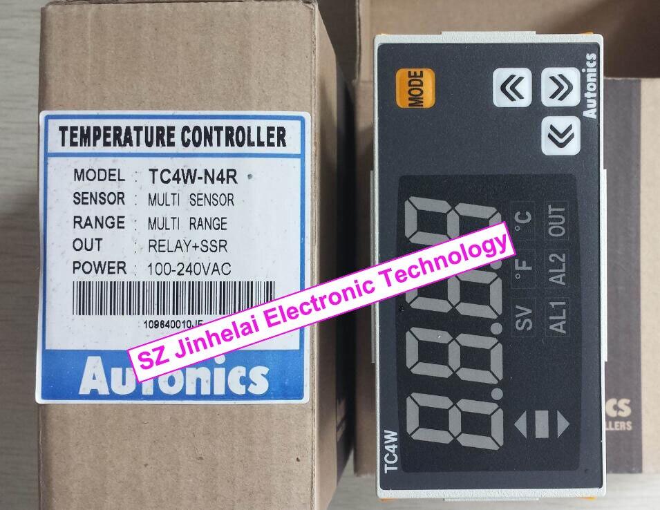 New and original   TC4W-N4R   AUTONICS  100-240VAC Temperature controller t4yi n4nkcc new and original autonics 100 240vac temperature controller