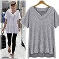 Plus Size tshirt Women Summer heren feminino slim fit 2016 New Loose t Shirt Ladies camisetas mujer t-shirts Cotton 4xl