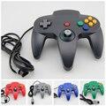 Новый Проводной Регулятор Игры Pad Джойстик для Nintendo 64 N64 Игровая консоль 5 цвета Серый Черный Синий Красный и зеленый