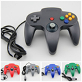 New Wired Game Controller Pad Joystick for Nintendo 64 N64 Console Video Game 5 colors Grey Black Blue Red and Green