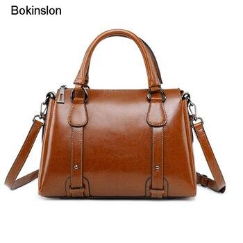 bdaa7dc1ee73 Bokinslon женские маленькие квадратные сумки Модные женские Сумки из  искусственной ...