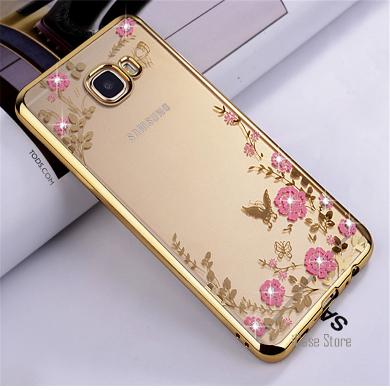 US $2 59 47% OFF For Samsung Galaxy M10 M20 A10 A30 A50 Case luxury Garden  case For S10 Lite S9 Plus A6 S8 S7 Edge S6 S5 A8 Star A9 2018 A750-in