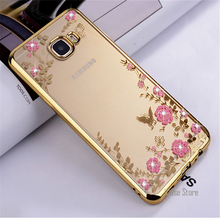 For Samsung Galaxy S5 S6 Edge S7 S8 Plus Case luxury TPU phone case For A3 A5 2016 A7 2017 J5 J2 Prime Note 8 Secret Garden Case(China)
