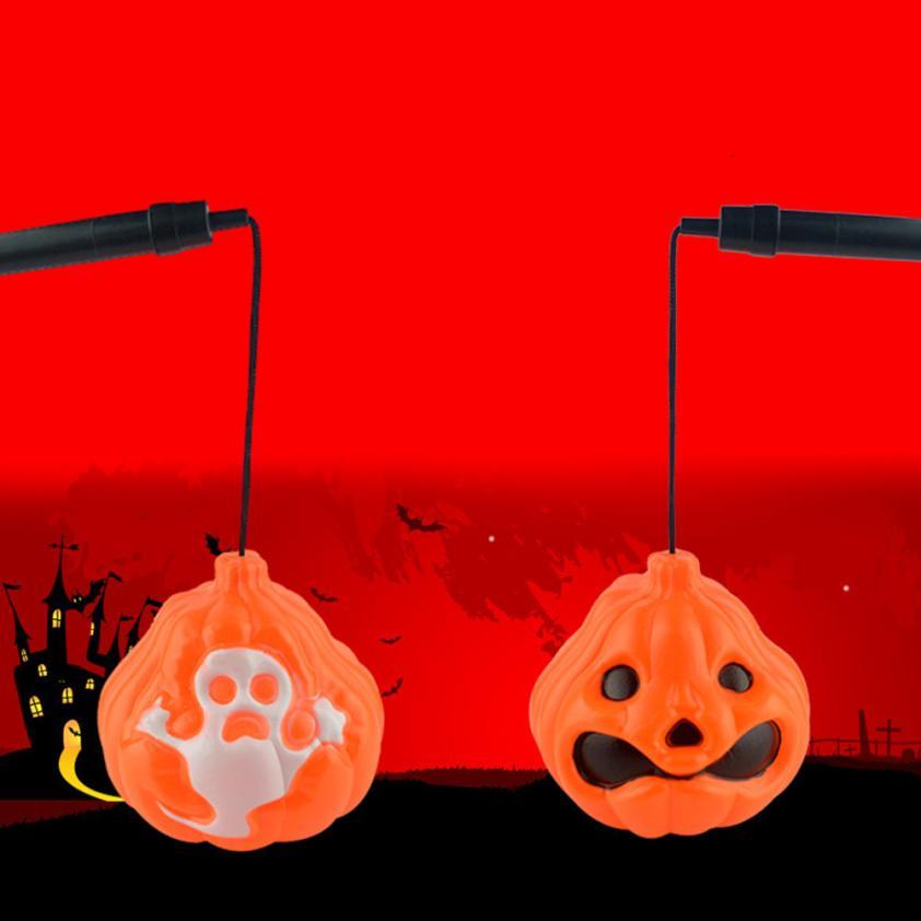 Outdoor Lighting Halloween Decorative Supplies Bar Props Color Glowing Pumpkin Ghost Light Child  Home decor