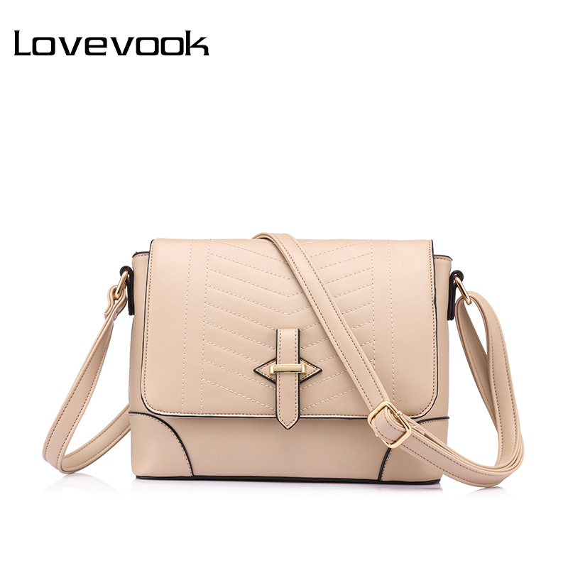 LOVEVOOK brand fashion women messenger bags female small crossbody shoulder bags high quality solid artificial leather handbag fashion women handbag canvas shoulder bag high quality messenger crossbody bags satchel solid color casual tote female brand