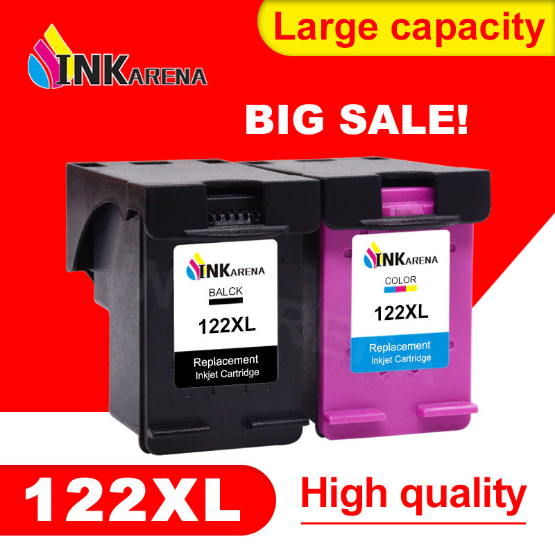 INKARENA 122XL чернильный картридж, замена картриджей для принтера HP 122 Deskjet 2000 2050 2050s 3000 3050A 3054 1010 1510 2540