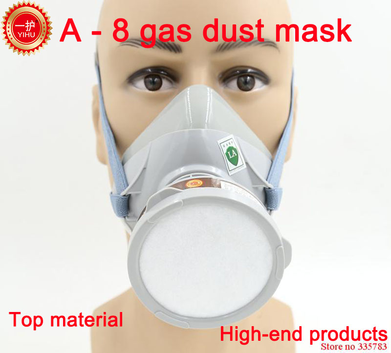 YIHU respirator gas mask High quality Patent technology carbon filter mask paint spray pesticide industrial safety gas mask silicone respirator gas mask pesticide pintura full face carbon filter mask paint spray gas boxe protect mask free shipping