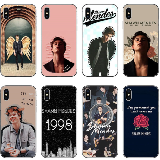 huge discount 44030 11266 US $1.98 39% OFF|Hit pop singer Shawn Mendes Magcon Phone Cases For iPhone  X 10 Hard PC Cover Case for iPhone 8 8Plus 7 7Plus 6 XR AS Max SE 5 5S-in  ...