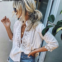 New Fashion Women Casual Sleeveless Top Vest Blouse Ladies Summer Shirt Lace Tops 100% Cotton Regular Blouse Long Sleeve Shirts
