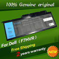 Free shipping F7HVR Original laptop Battery For Dell Inspiron 14 15 15r 17 N7437 N7537 N7737 for Latitude 3150 3450 M5545D-1828L