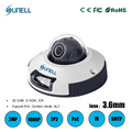 zk20 Sunell 2MP 1080P Smart IP Outdoor Dome Mini Camera With 3.6mm Lens,H.264 Day night IR 6M Heater PoE,ROI Defog,Corridor mode
