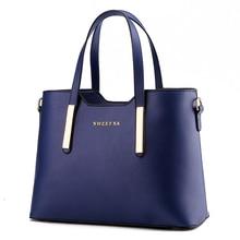 2016 fashion OL Women Top-handle Bag Shoulder Bags PU Leather Handbags Solid Tote lady Fashion hand bag