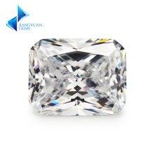 4x6 ~ 10x12mm форма восьмиугольника 5a + белый камень кубического