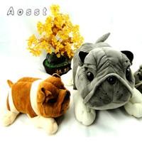 AOSST   Creative cartoon bulldog plush toys Cute puppy bamboo charcoal car furnishing articles plush toys girl gifts
