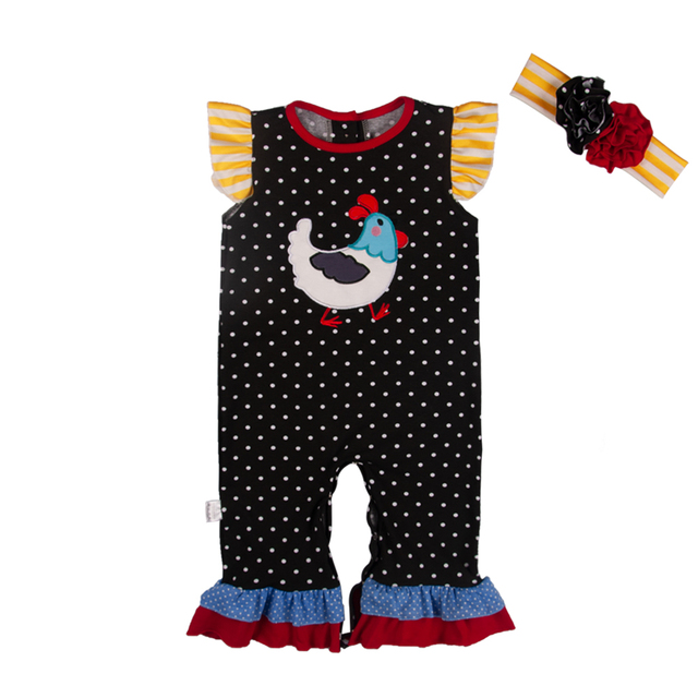 a8f62fd41ea 2019 trend cute style wholesale factory girls kids boutique Easter Polka  Dot Girl Romper Matching Child Boy Romper GPF811-349-HY