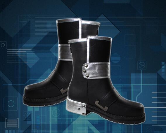 De haute qualité Épée Art En Ligne Kirito Cosplay Bottes Chaussures