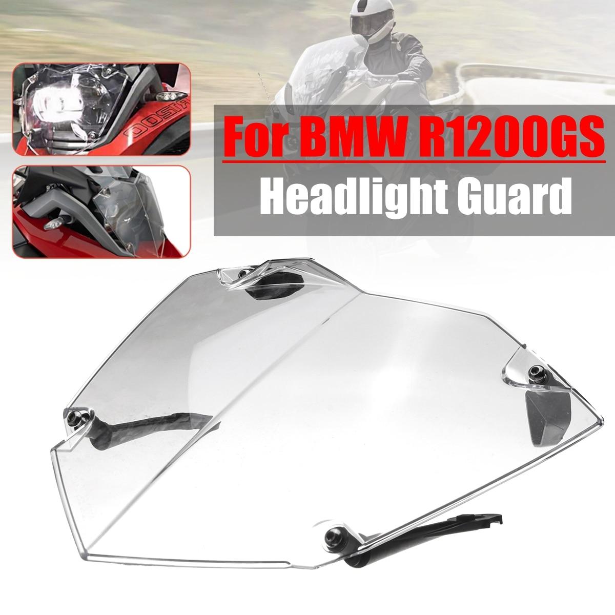 Передняя фара гвардии Прозрачная крышка объектива протектор shell для BMW R1200GS ADV WC 13-17