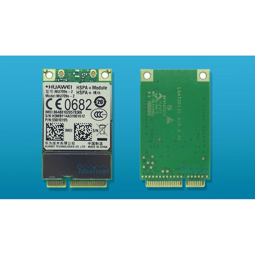 A ESTRENAR MU709s-2 MU709 Mini PCIe UMTS/HSPA 900/2100 MHz 3G WAN tarjeta de red inalámbrica