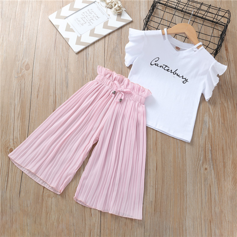 HTB1731Hc8Cw3KVjSZFlq6AJkFXaR - Summer Baby Girls Clothes Sets Outfits Kids Clothes Short Sleeve +Pants Children Clothing Set 3 4 5 6 7 8 9 10 11 12 Years
