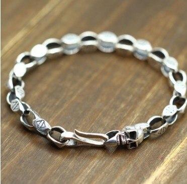 Bracelets pour hommes bracelet personnalisable hommes braclets argent 925 5mm