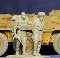 Resin Kits 1/35 Resin Model Modern Russian Prisoners During The War In Chechnya Free Shipping