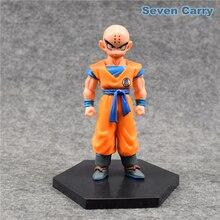 DBZ Super Krillin Kulilin Pernicious Ready To Fight PVC Figure Toy 11cm