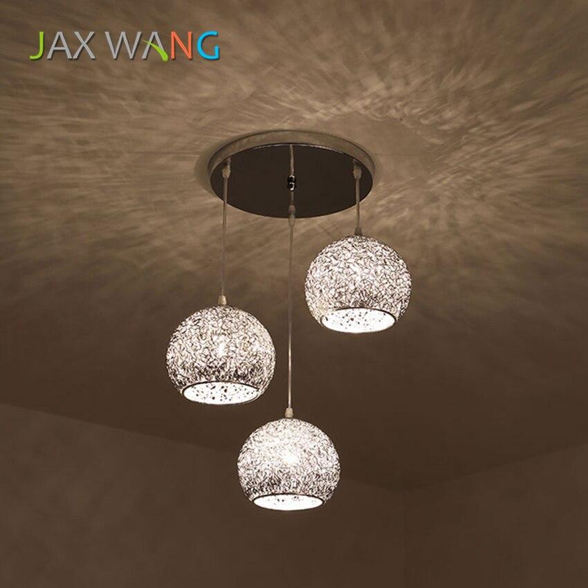 Customizable Color Iron Art Pendant Lamp LED E27 Bedroom Restaurant Living Room Lighting Pendant Light Decoration Lamps Fixture