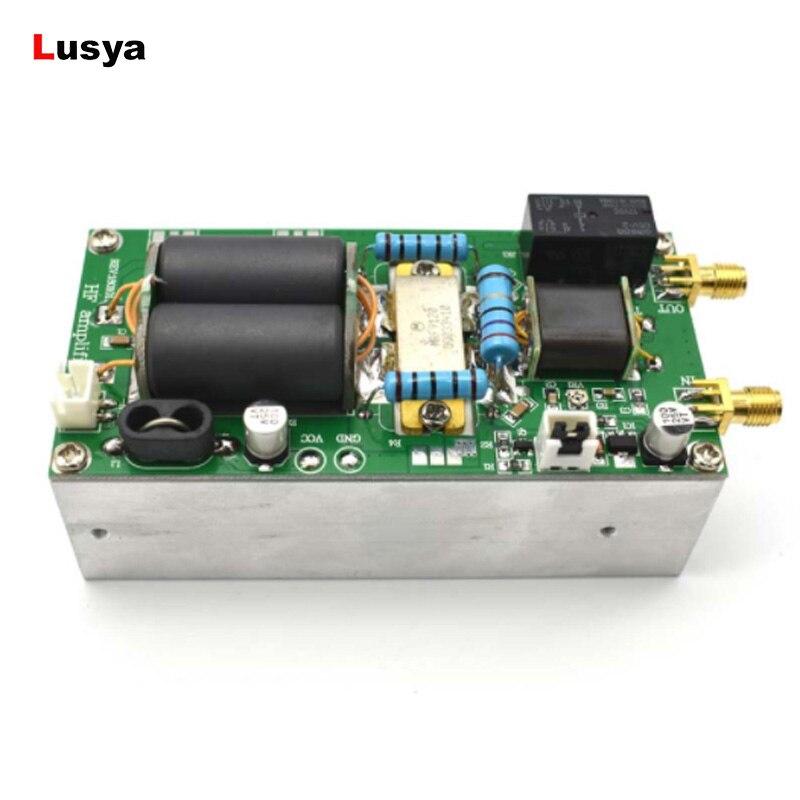 MINIPA 100 w SSB linéaire HF Power Amplifier terminé conseil + radiateur Pour YAESU FT-817 KX3 cw FM c5-001