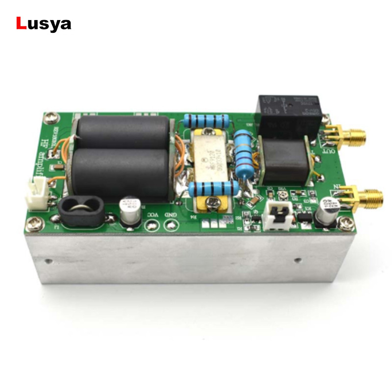MINIPA 100W SSB linear HF Power Amplifier finished board + heatsink For YAESU FT 817 KX3 cw FM C5 001-in Amplifier from Consumer Electronics    1